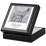 White Bird Appaloosa Horse Re Keepsake Box