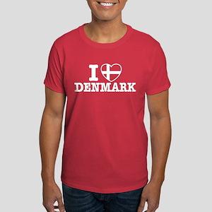 I Love Denmark Dark T-Shirt
