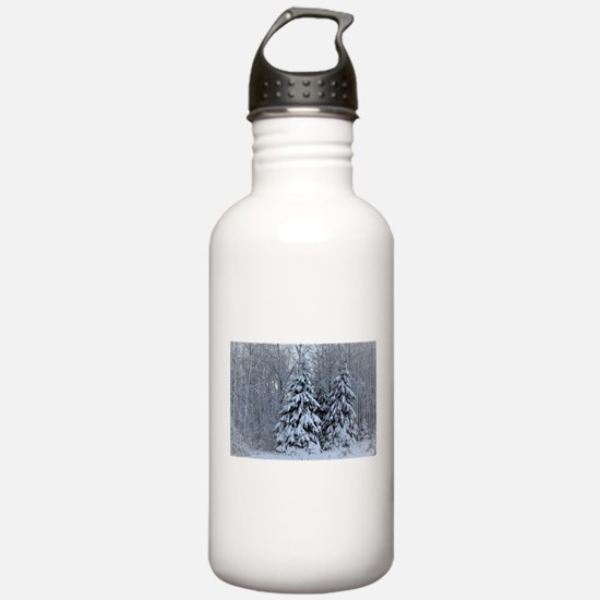 Majestic White Pines i Water Bottle