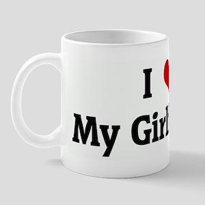 I Love My Girlfreind Mug