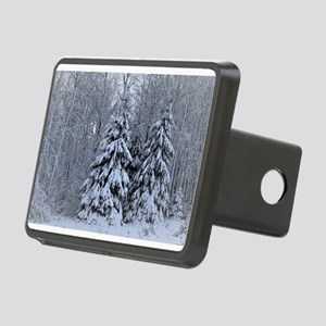 Majestic White Pines in Wi Rectangular Hitch Cover