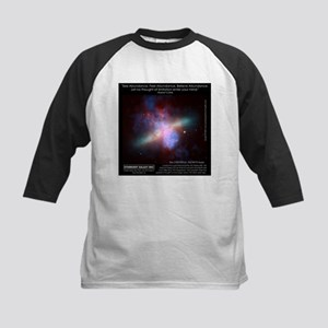 Starburst Galaxy M82 Kids Baseball Jersey