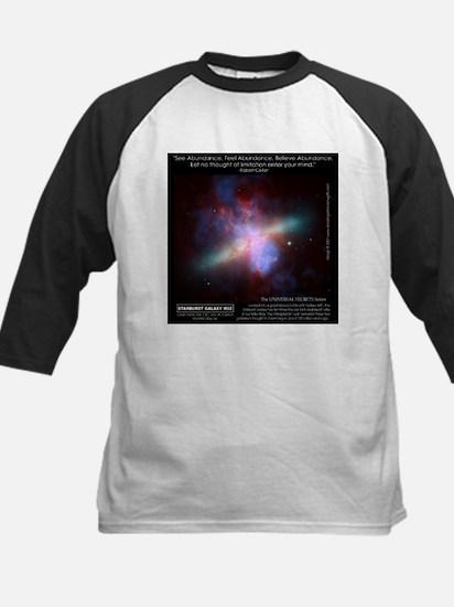 Starburst Galaxy M82 Kids Baseball Jersey