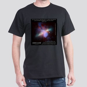 Starburst Galaxy M82 Dark T-Shirt