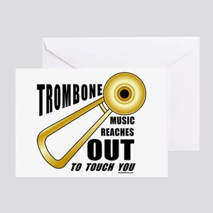 Trombone Touch Greeting Card