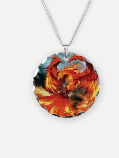 Phoenix Bird Necklace