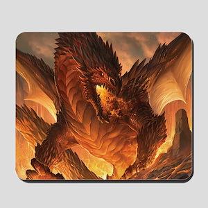 Angry Dragon Mousepad