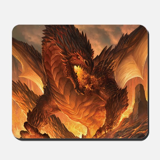 Angry Dragon Mousepad