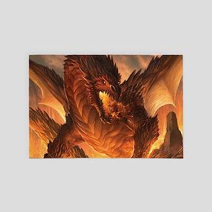 Angry Dragon 4' x 6' Rug