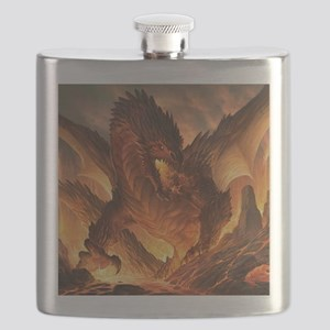 Angry Dragon Flask