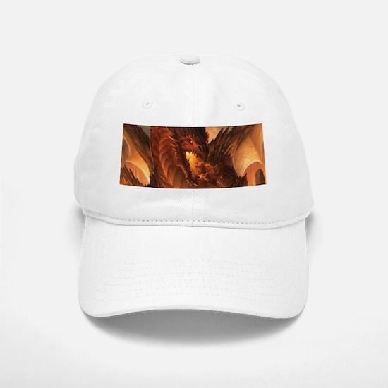 Angry Dragon Baseball Baseball Cap