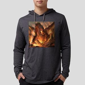 Angry Dragon Long Sleeve T-Shirt