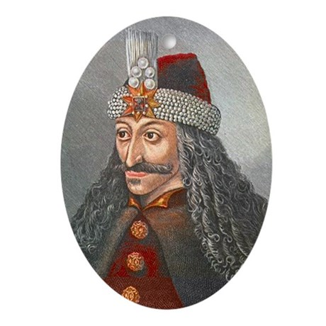 Vlad the Impaler Oval Ornament