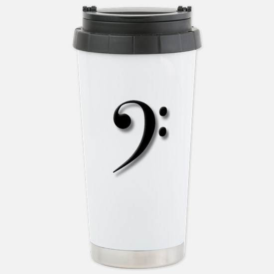 The Impressive Bass Clef Mugs