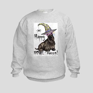 Halloween Scottie Kids Sweatshirt