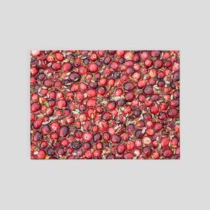 Cranberry Harvest 5'x7'Area Rug