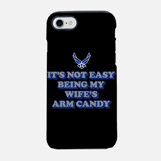 USAF Wife's Arm Candy iPhone 8/7 Tough Case