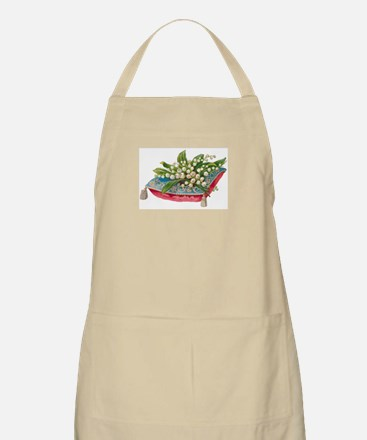 Lilies of the Valley BBQ Apron
