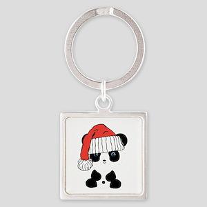 Santa Panda Bear Keychains