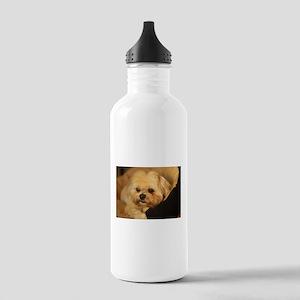 Koko blond Lhasa apso Stainless Water Bottle 1.0L