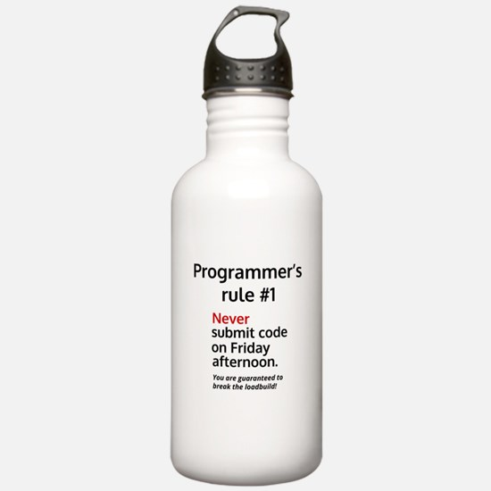 Programmer's rule #1 Water Bottle