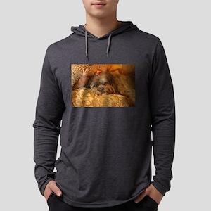 Kona Lhasa type dog relaxing o Long Sleeve T-Shirt