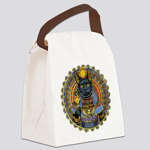 Egyptian CAT GODDESS Canvas Lunch Bag