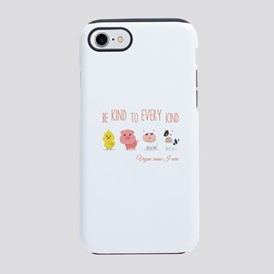 Be Kind to Every Kind Vegan iPhone 8/7 Tough Case
