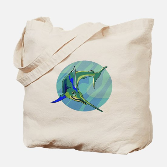 Sailfish Tote Bag
