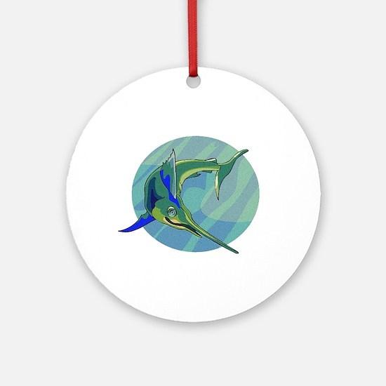 Sailfish Ornament (Round)