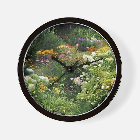 A Maze of Secret Gardens Wall Clock