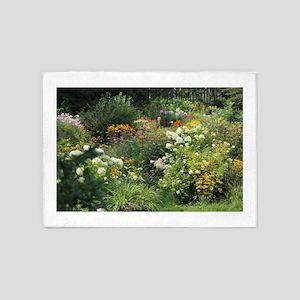A Maze of Secret Gardens 5'x7'Area Rug