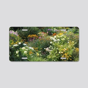 A Maze of Secret Gardens Aluminum License Plate