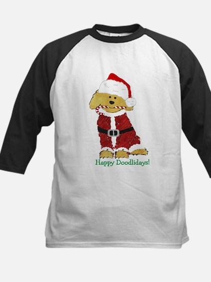 Goldendoodle Santa Claus Tee