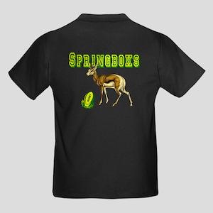 Springbok Rugby Kids Dark T-Shirt