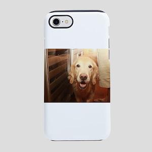 candid Nala golden retriever iPhone 8/7 Tough Case