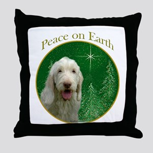 Spinone Peace Throw Pillow