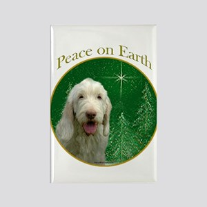 Spinone Peace Rectangle Magnet