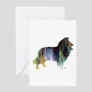border Collie Greeting Cards