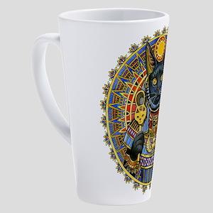 Cat Goddess 17 Oz Latte Mug