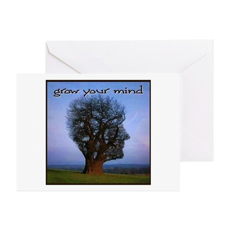 Grow Your Mind Greeting Cards (Pk of 10)