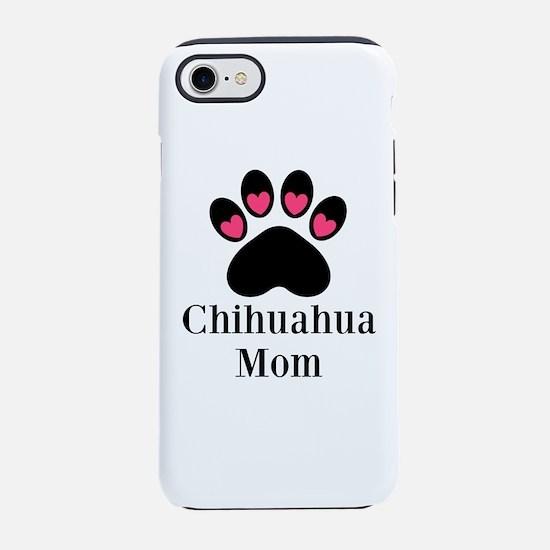 Chihuahua Mom Paw Print iPhone 8/7 Tough Case