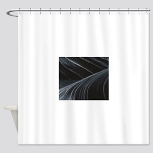 ripples of art fun Shower Curtain