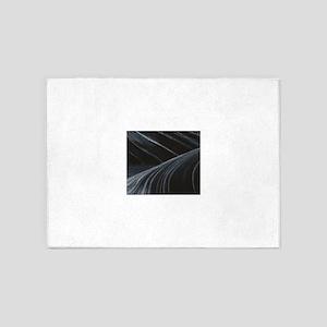 ripples of art fun 5'x7'Area Rug