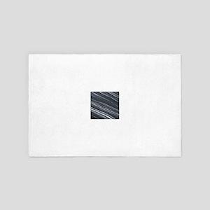 line pattern art fun 4' x 6' Rug