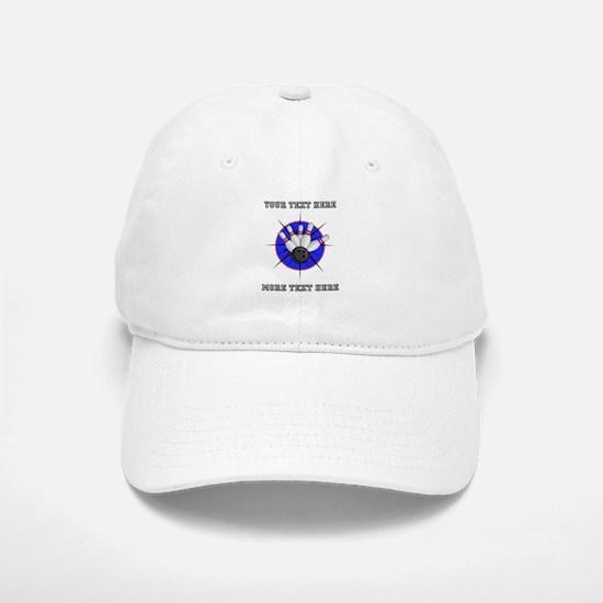 Personalized Bowling Baseball Baseball Cap