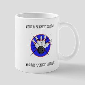Personalized Bowling 11 oz Ceramic Mug