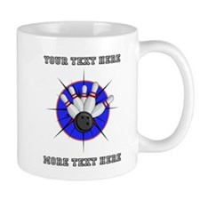 Personalized Bowling 11 oz Ceramic Mug