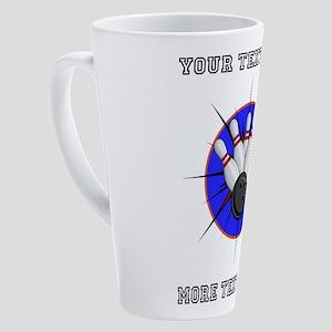 Personalized Bowling 17 oz Latte Mug