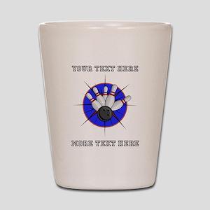 Personalized Bowling Shot Glass